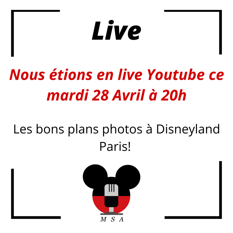Les bon coins photos à Disneyland Paris! (Live Youtube)