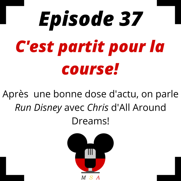 Episode 37 : C'est partit pour la course! (Avec Chris d'All Around Dreams)